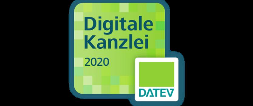 """Auszeichnung als """"Digitale DATEV-Kanzlei"""""""
